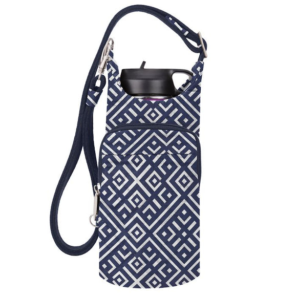 Boho Water Bottle Tote