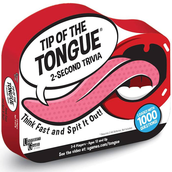 Tip of the Tongue - 2 Second Trivia Game