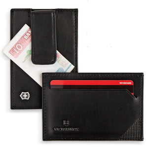 Altius Edge Napier Leather RFID Blocking Money Clip RFID