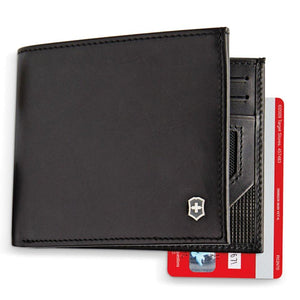 Altius Edge Zenon Leather RFID Blocking Bi-Fold Wallet
