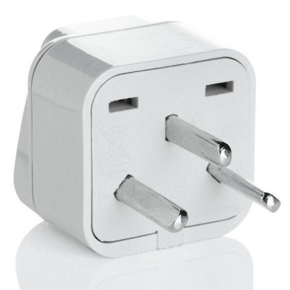 Grounded Adapter Plug - Israel & Egypt