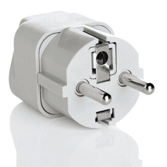 Grounded Adapter Plug - Europe, Middle East,parts of Africa, Asia & the Caribbean
