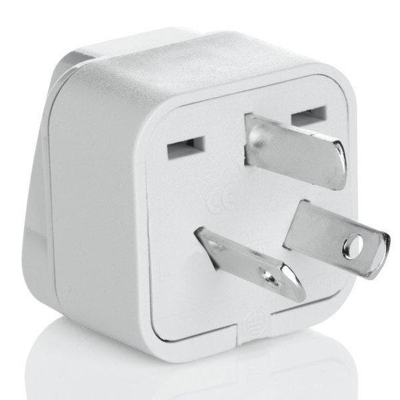 Grounded Adapter Plug - Australia, Fiji, New Zealand, China