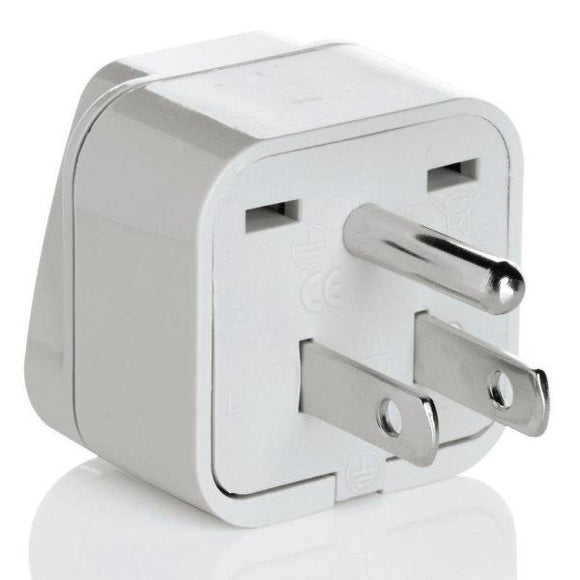 Grounded Adapter Plug - North/South America, Japan and the Caribbean