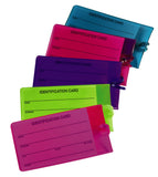 Jelly Luggage Tags - Vibrant Colors