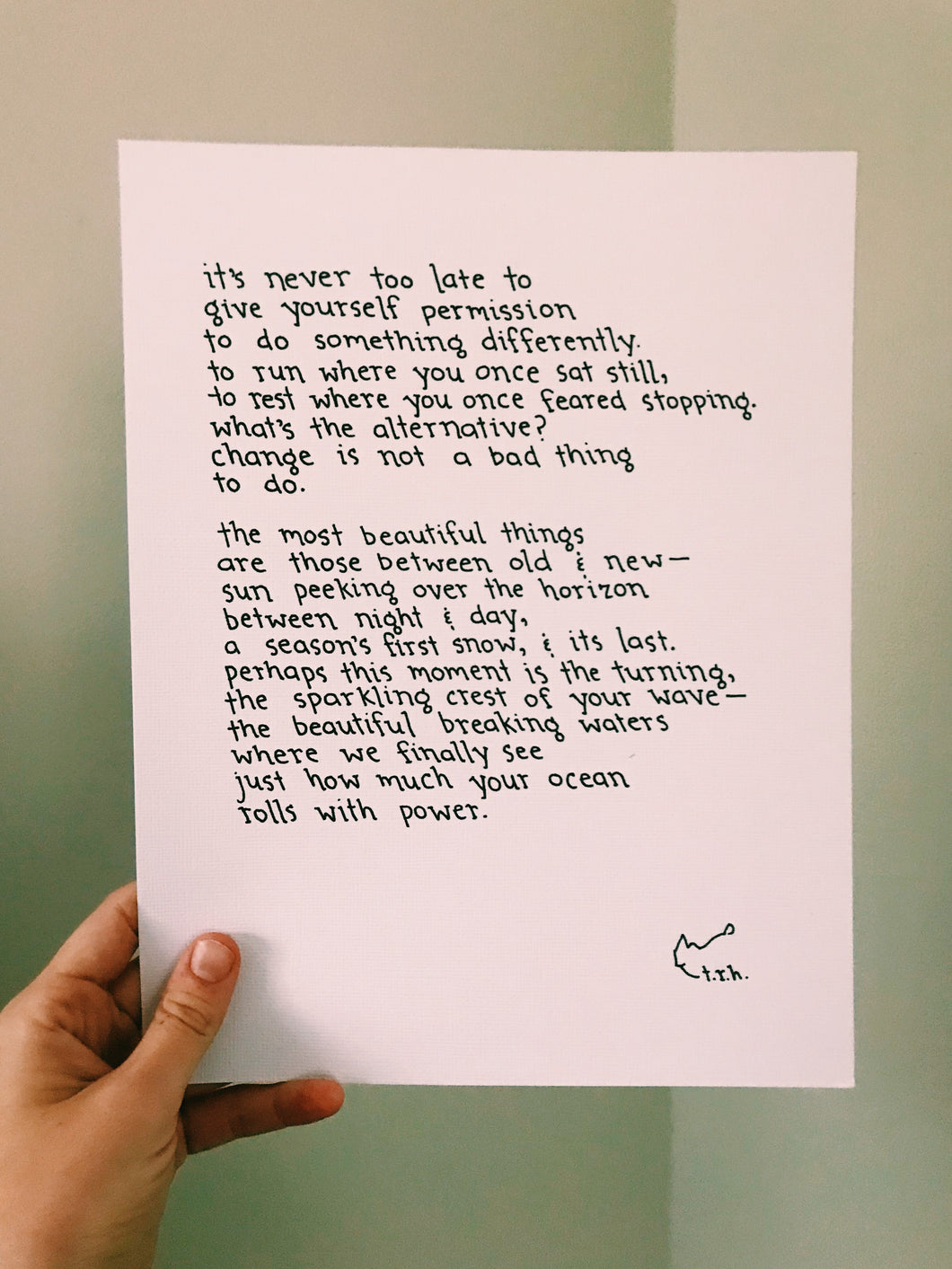 The Turning // Poem