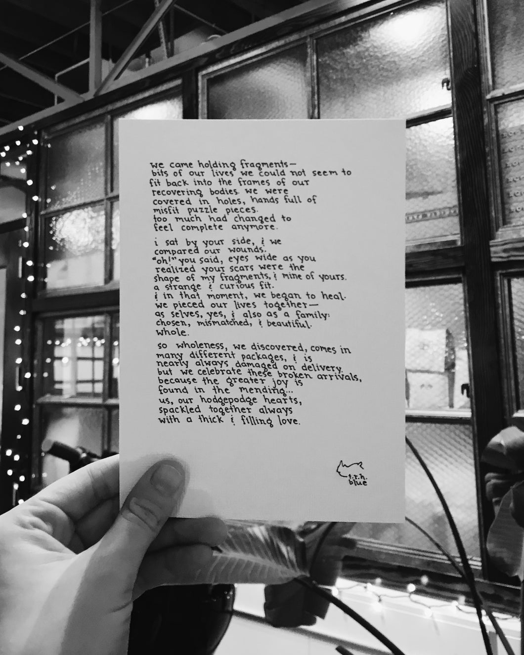 Spackled // Poem