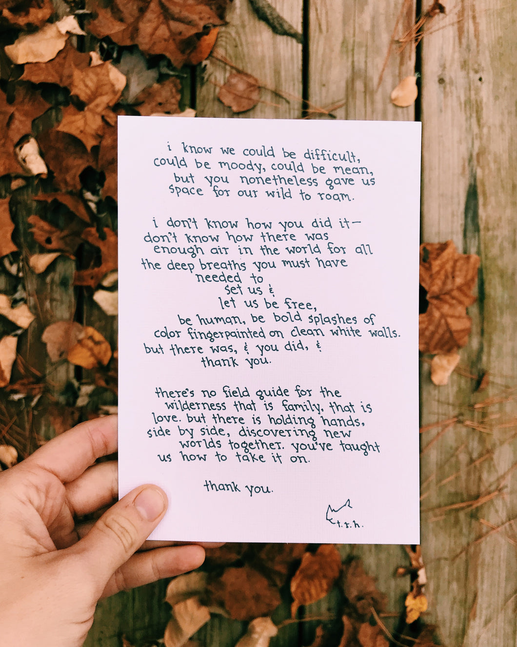 Field Guide // Poem