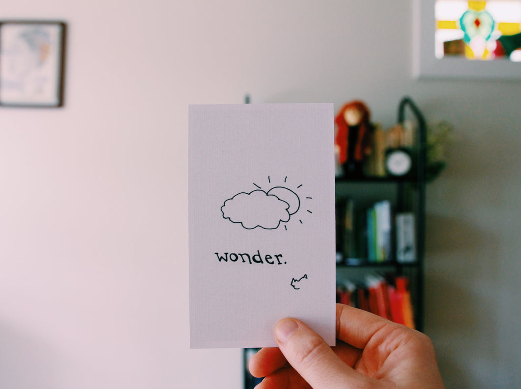 WONDER // Poetry Bundle