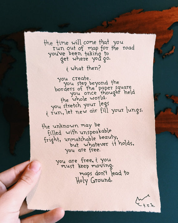 Holy Ground // Poem