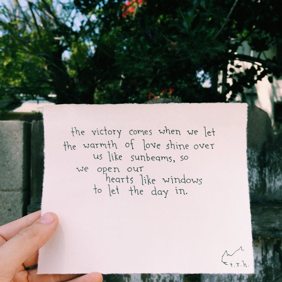 Hearts Like Windows // Poem