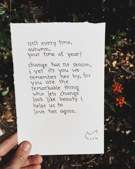 Autumn // Poem