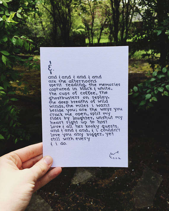And (Love & All Her Kooky Guests) // Poem