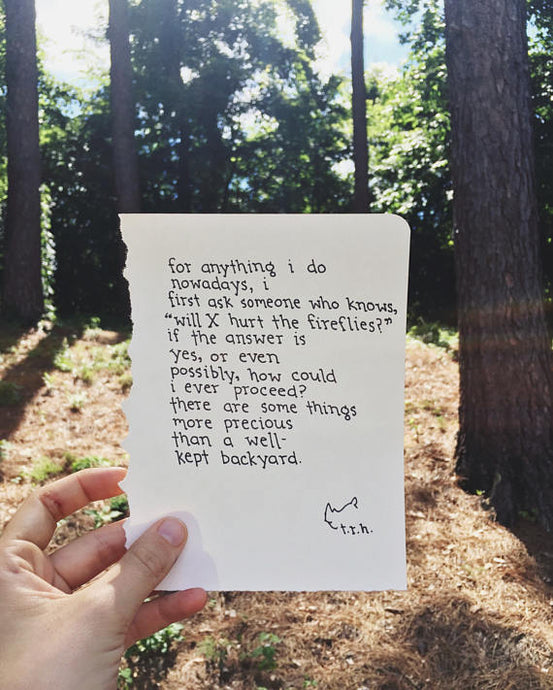 Some Things // Poem