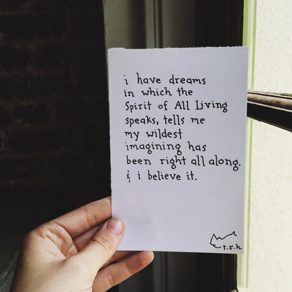 I Have Dreams // Poem