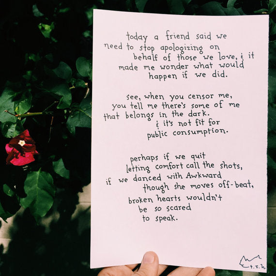 If We Danced with Awkward // Poem