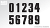 STASIS Numberplate - Race Graphic
