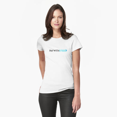 Pay With Steem Womans T-Shirt