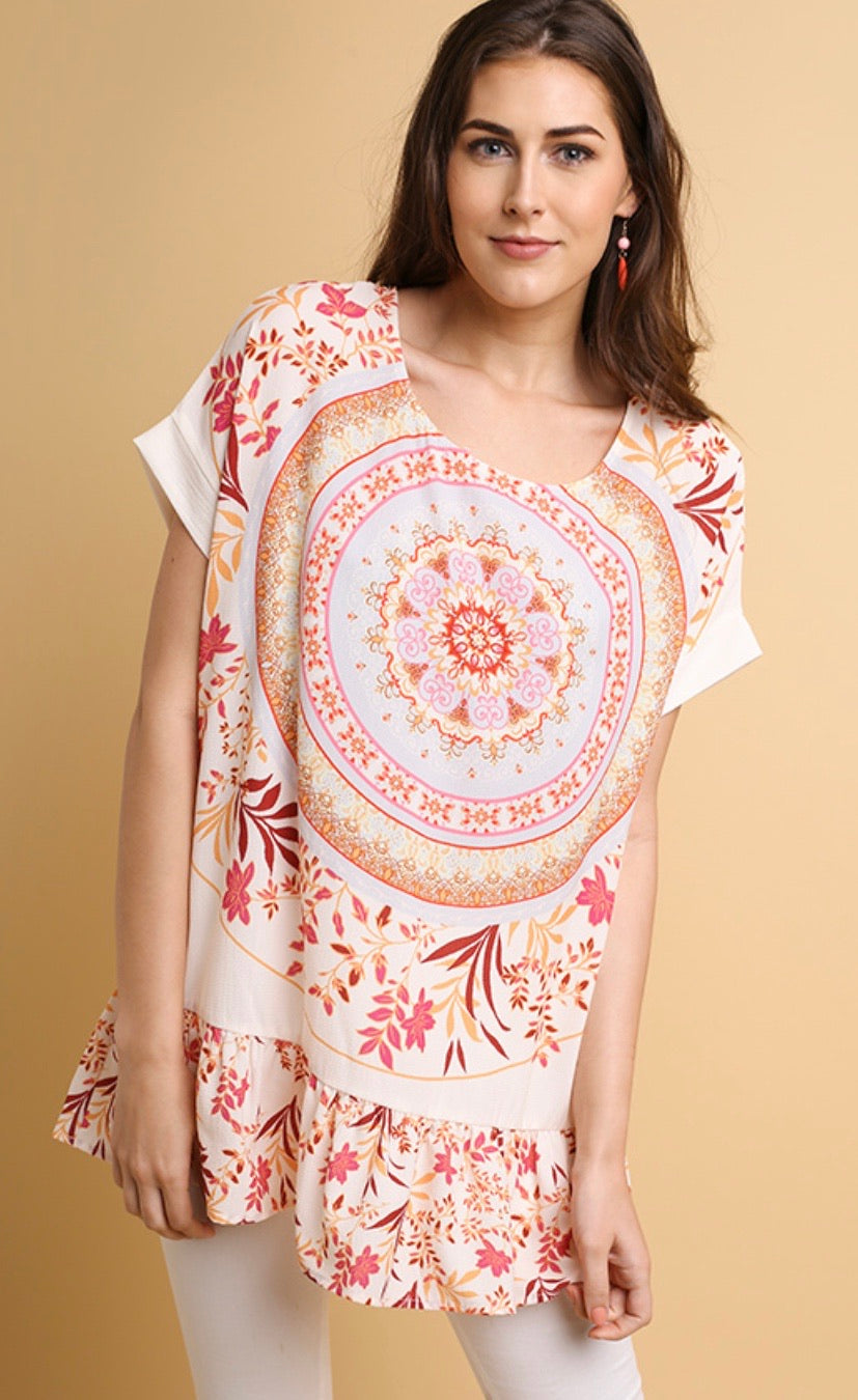 Umgee Spring Medallion Top