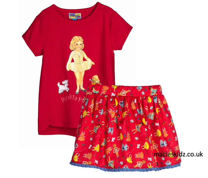 Rosalita Doll Skirt Set