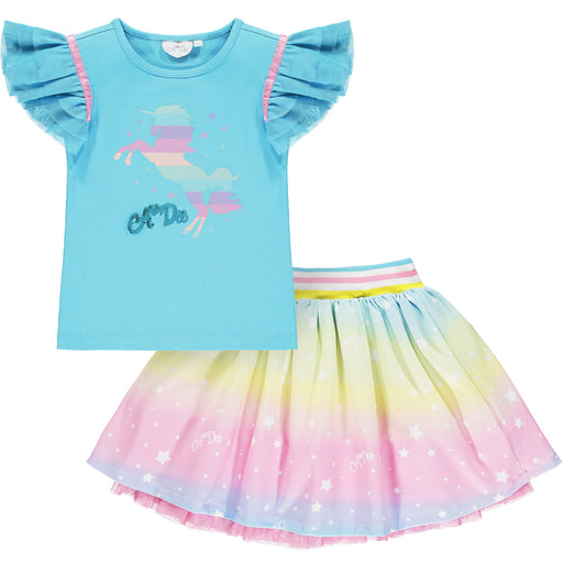 PRE-ORDER Adee Unicorn Skirt Set