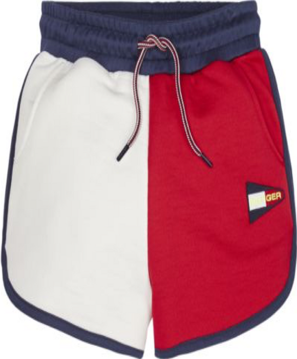 TOMMY COLOUR BLOCK SHORTS - Macie's KIDZ