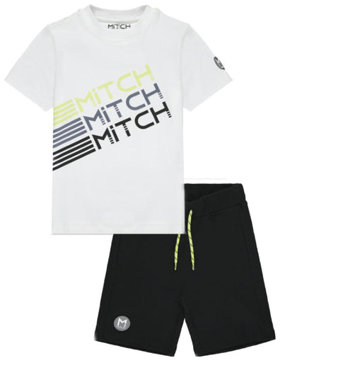 Mitch Trio Logo Shorts Set