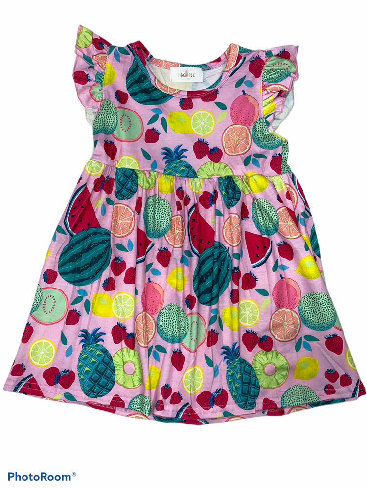 Pineapple Couture Fruit Dress
