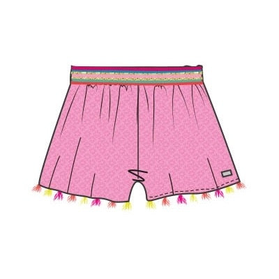 Happy Calegi Rainbow Shorts Set