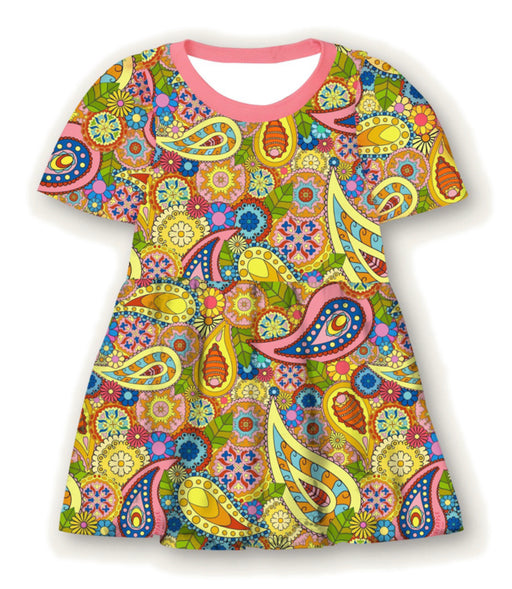 PRE-ORDER Pineapple Couture Paisley Dress