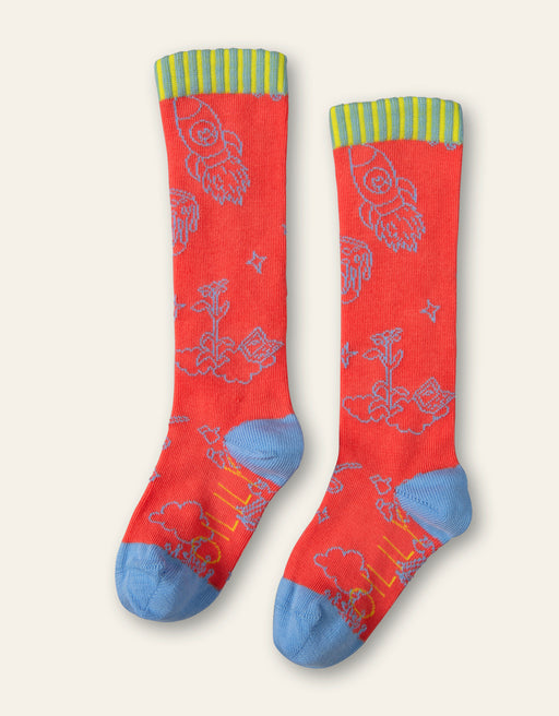 Oilily Coral Party In The Clouds Popsocks