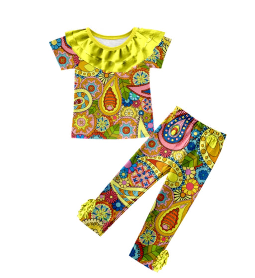 PRE-ORDER Pineapple Couture Paisley Outfit