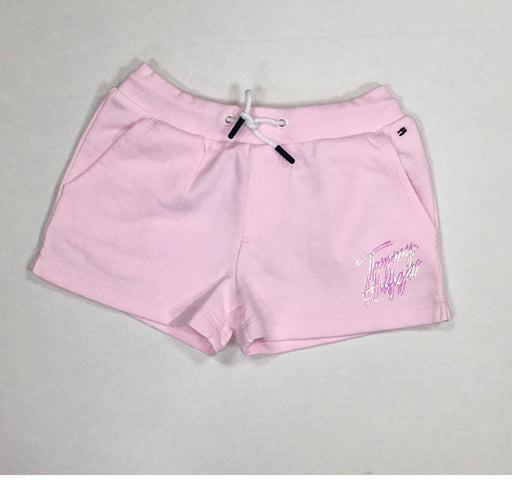 Tommy Baby Pink Logo Shorts