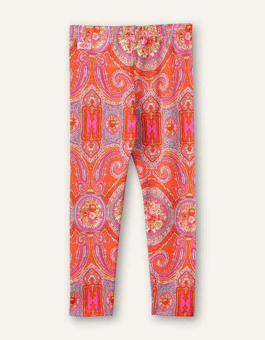 Oilily Paisley Leggings