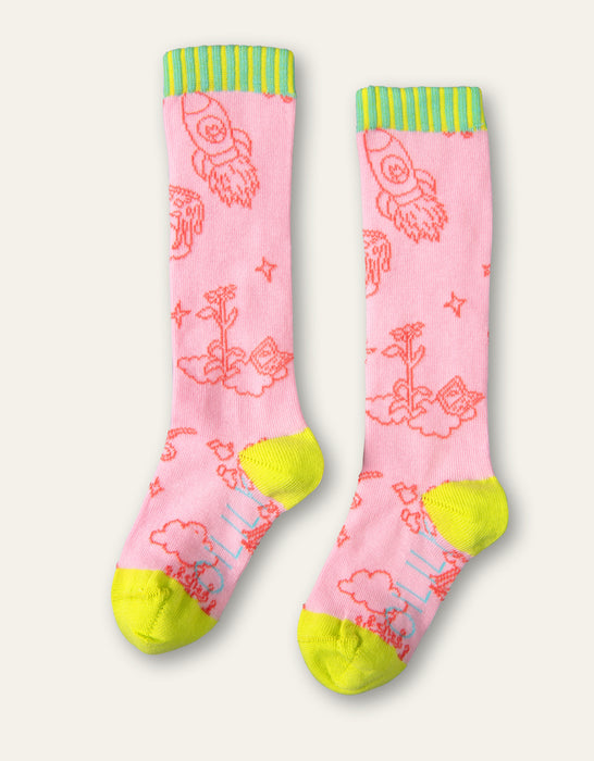 Oilily Pink Party In The Clouds Popsocks