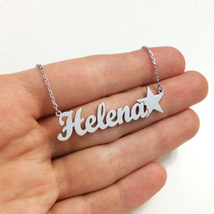 Personalized Name Necklaces With Icon Best Christmas Gifts For Women