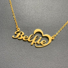 Personalized Heart Name Necklace