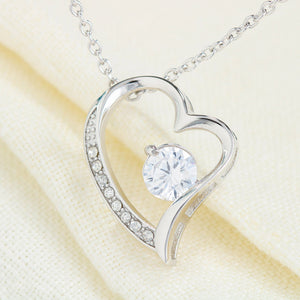 Gifts For Best friend The Heart Shape Necklace With Message Card For Best Friend