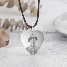 custom photo necklace for men