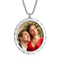 Custom Photo Necklace - Oval Pendant Necklace