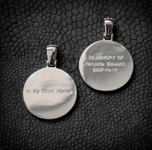Personalized Photo Medallions Necklace