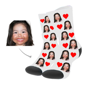 Face Socks, Custom Photo Socks -Custom your socks with any face