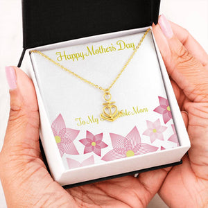 Beautiful Anchor Heart Necklace Mothers Day Gifts For Mom