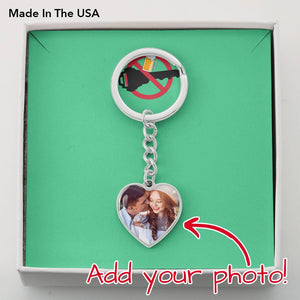 Custom Photo Keychian With Name Engraving- Choose The Best Drive Safe Wish