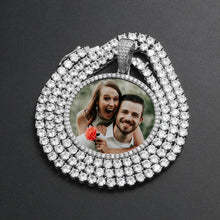 Custom Photo Medallion Necklace- Best Christmas Gifts For Boyfriend