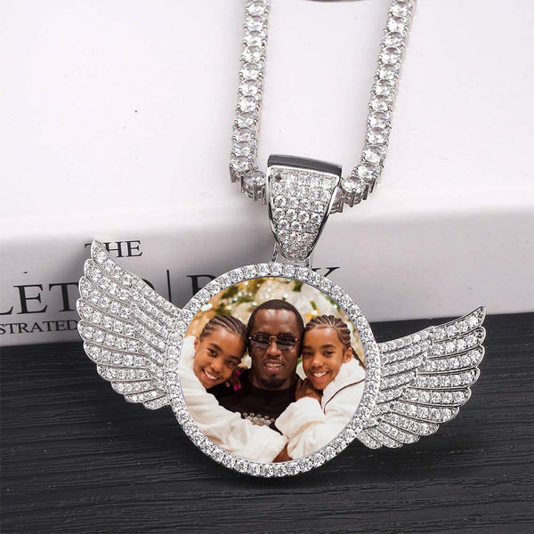 Photo Wings Necklace