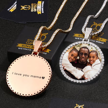 Custom Photo Medallions Necklace For Men- Christmas Gifts For Dad