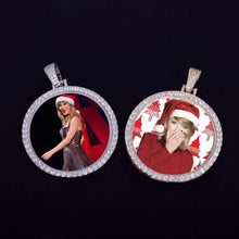 Personalized Photo Medallions Necklace Christmas Gifts For Girlfriend