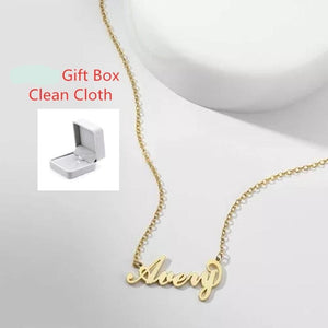 Baby Name Necklace