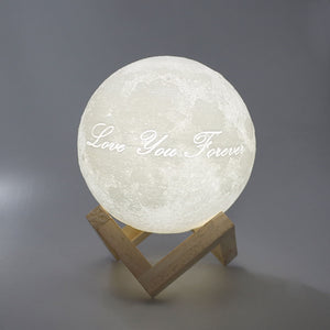Magic 3D Printing Photo Engraved Moon Light  Valentine's Day Gift